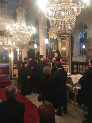 Στον Ταξιάρχη Σωσθενίου ο Οικουμενικός Πατριάρχης