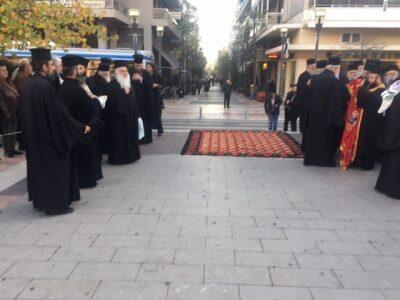 Αγρίνιο-Τώρα: Ζωντανά η υποδοχή της Αγίας Ζώνης