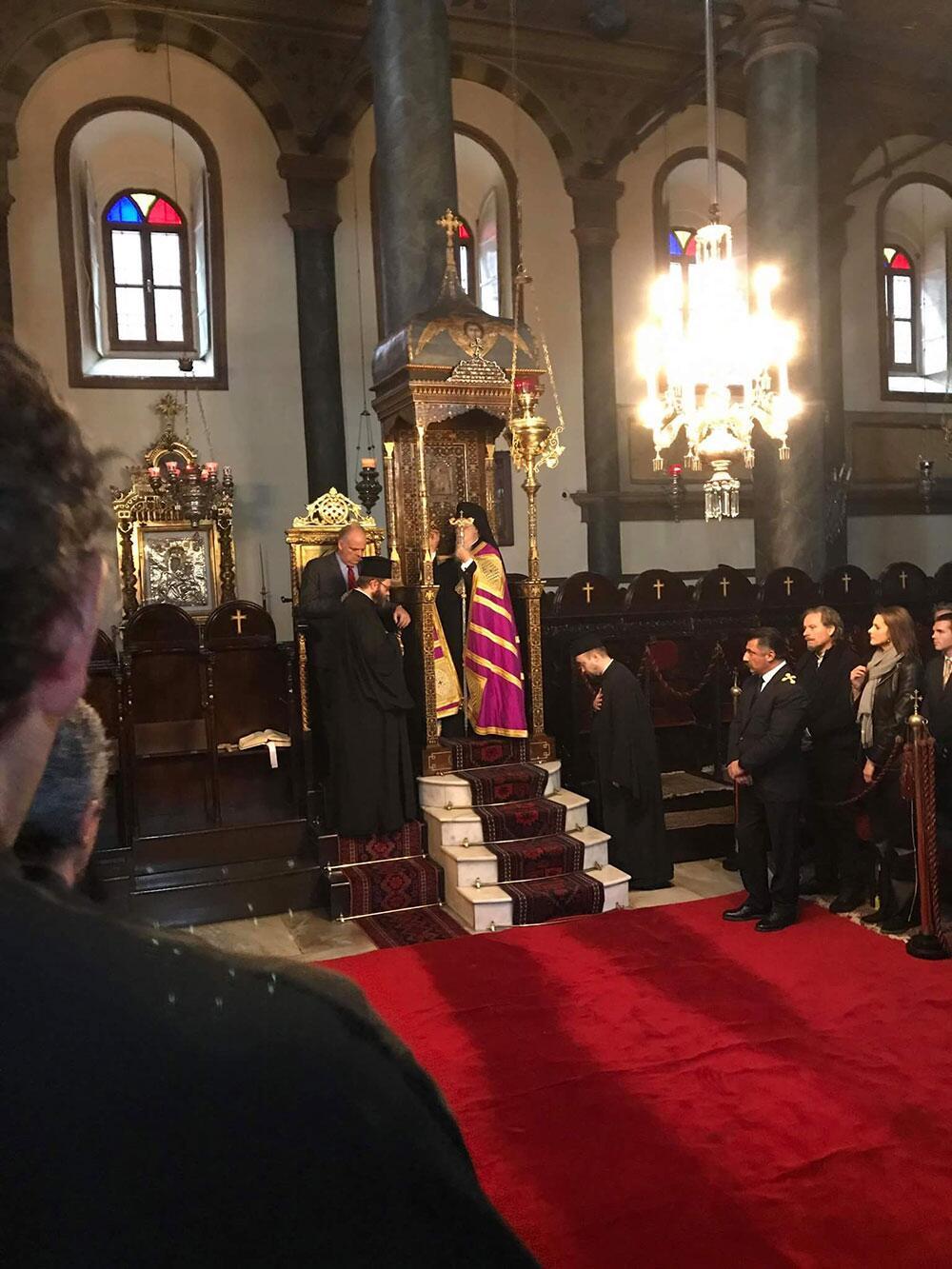 Χριστούγεννα οικουμενικός πατριάρχης 2017