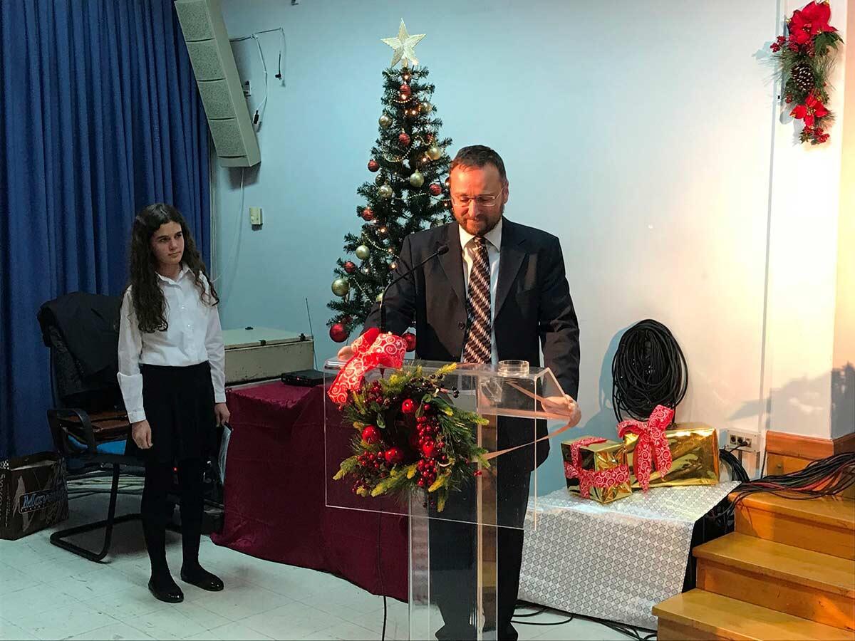 Χριστουγεννιάτικη Γιορτή του Μουσικού Σχολείου Κατερίνης και της Σχολής Βυζαντινής Μουσικής