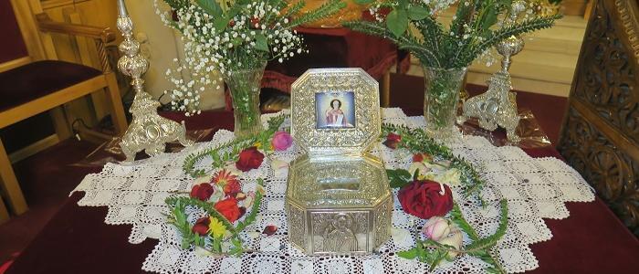 Πανηγυρικά εορτάσθηκε η μνήμη του Αγίου Μηνά του Καλλικελάδου στη Μητρόπολη Φθιώτιδος