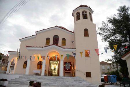 Λαμπρά Εγκαίνια Ιερού Ναού Αγίου Δημητρίου Ισώματος Πατρών