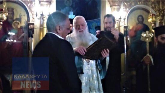 Ο Αμβρόσιος προέτρεψε Σκουρλέτη να ασπαστεί το Ευαγγέλιο και εκείνος αρνήθηκε