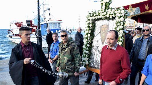 Αίγινα: Η Λιτάνευση της Εικόνας και των Ιερών Λειψάνων του Αγίου Διονυσίου