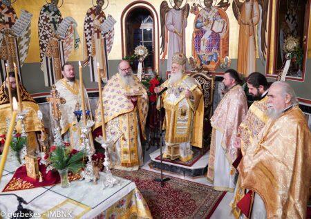 Η Χριστουγεννιάτικη θεία Λειτουργία στην Ιερά Μητρόπολη Βεροίας
