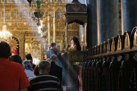 Πρωτοχρονιά στον Πατριαρχικό Ναό-πρόγραμμα