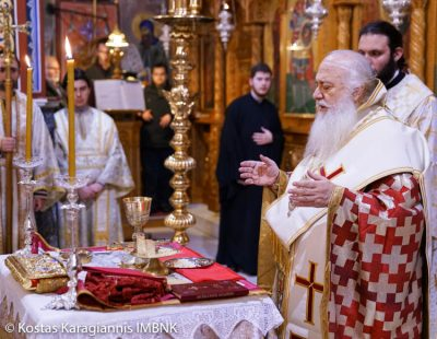 Εσπερινή Θεία Λειτουργία για νέους και νέες στην Μητρόπολη Βεροίας