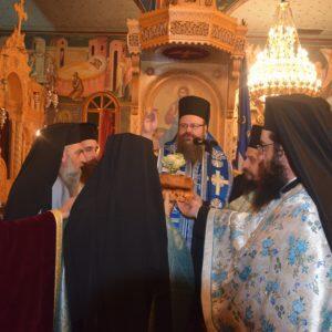 Μέγας Πανηγυρικός Εσπερινός στον Άγιο Νικόλαο Σαλαμίνος