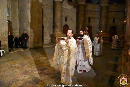 Η Χειροτονία του Ιεροδιακόνου Πατρικίου στον Πανάγιο Τάφο