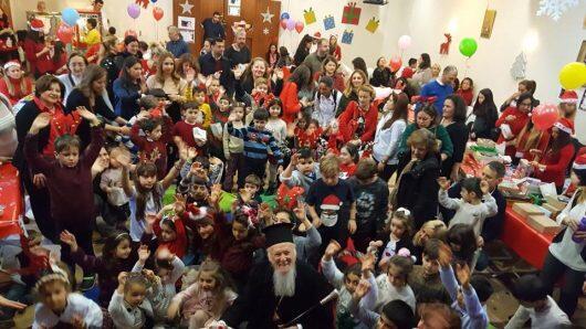 Στη Χριστουγεννιάτικη γιορτή των παιδιών ο Οικουμενικός Πατριάρχης