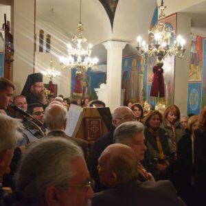 Με λαμπρότητα τιμούν τα Μέγαρα τον Άγιο Ελευθέριο