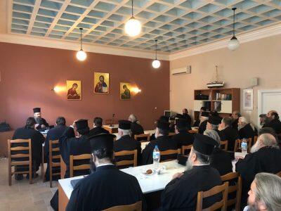 Πραγματοποιήθηκε η 41η Ιερατική Σύναξη στη Μητρόπολη Λευκάδος