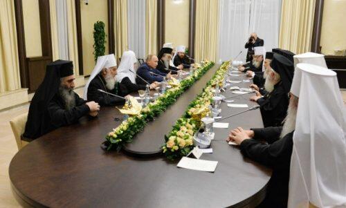 Όλα όσα ειπώθηκαν στη συνάντηση Πούτιν με Προκαθημένους των Ορθοδόξων Εκκλησιών