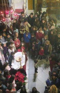 Εκδήλωση Αγάπης της Μητρόπολης Σύρου για τα παιδιά των εργαζομένων του Ναυπηγείου