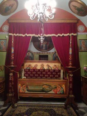 Πλήθος πιστών στην Κάλυμνο για τον εορτασμό της μνήμης του Αγίου Σάββα
