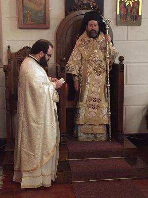 Σμύρνη: O Αρχιεπίσκοπος Τελμησσού στον Ι. Ναό Αγίας Φωτεινής