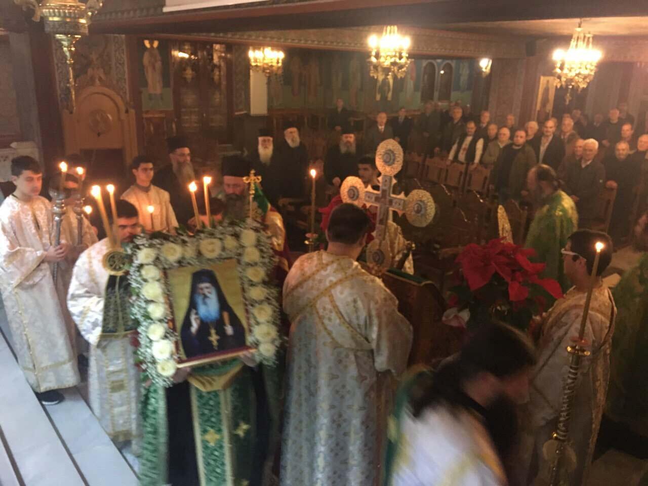 Αγιοκατατάξη του Αγίου Ιακώβου (Τσαλίκη) Στην Ιερά Μητρόπολη Κίτρους