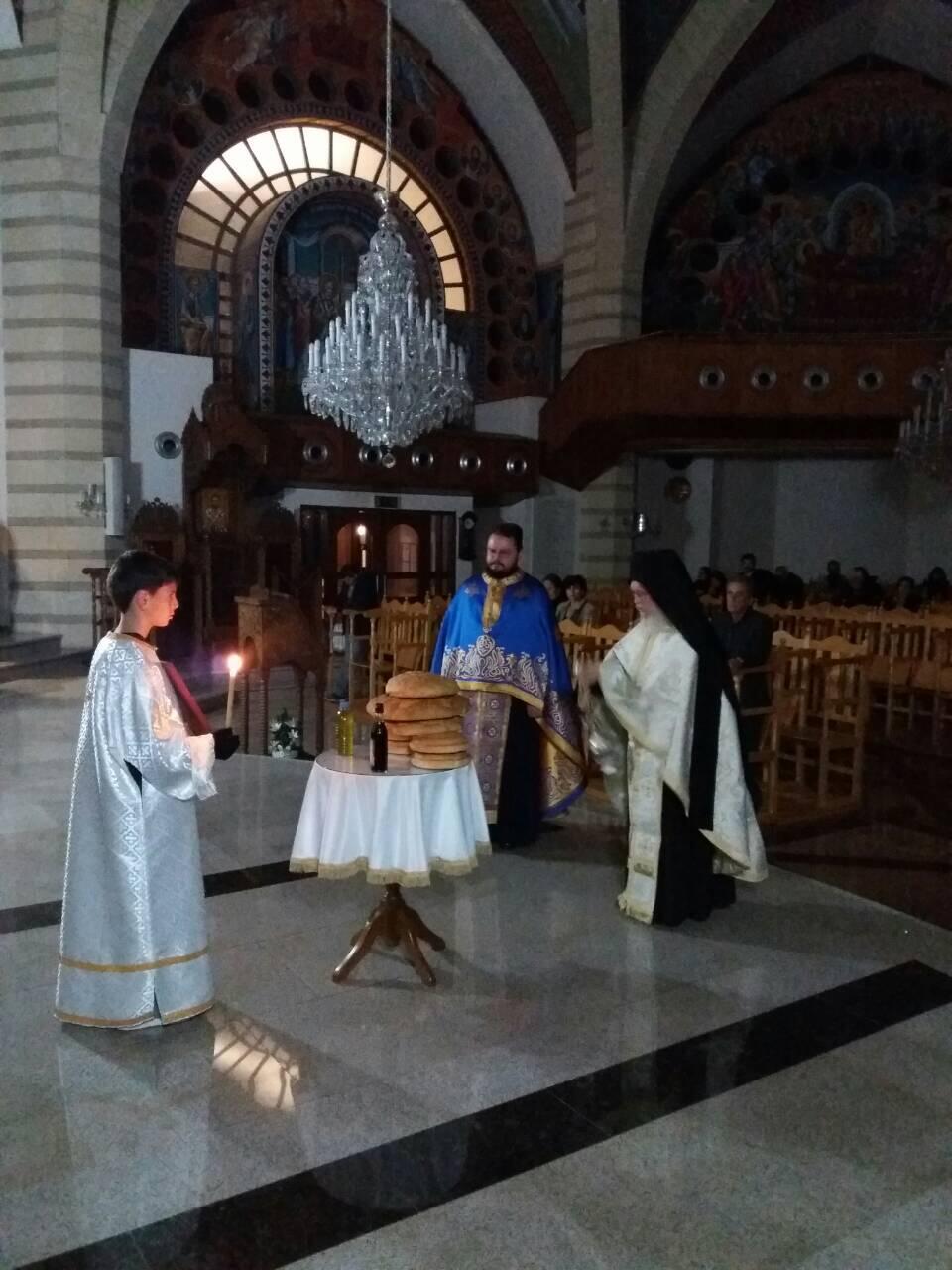 Ιερά Αγρυπνία στον Ιερό Ναό των Αγίων Κωνσταντίνου και Ελένης Τσερίου Λευκωσίας
