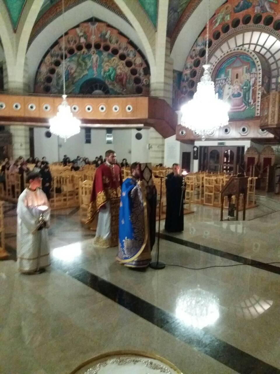 Ιερά Αγρυπνία στον Ιερό Ναό των Αγίων Κωνσταντίνου και Ελένης Λευκωσίας