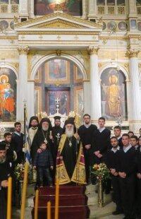 Λαμπρή Εορτή του πολιούχου της Σύρου Αγίου Νικολάου στην Ερμούπολη