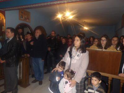 Θεία Λειτουργία στο Στο Παρεκκλήσιο της Αγίας Σοφίας τέλεσε σήμερα ο Κορίνθου Διονύσιος
