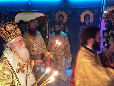 Βόλος: Ιερά Αγρυπνία για τη μνήμη του Αγίου Ιγνατίου