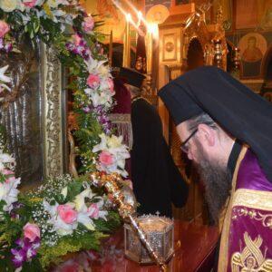 Πανηγυρικός Εσπερινός στην Αγία Βαρβάρα Παλουκίων Σαλαμίνος