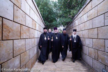 Επίσκεψη Μητροπολιτών Βινίτσης Συμεών και Ζιτόμερ Νικοδήμου στην Ιερά Μητρόπολη Βεροίας