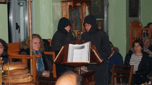 Στον Πανηγυρικό Εσπερινό Αγίου Ανδρέα στην Κάλυμνο ο Μητροπολίτης Λέρου
