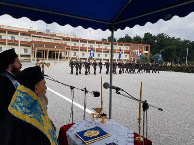 Μητρόπολη Λαρίσης: Παράδοση-παραλαβή πολεμικών σημαιών στην 1η Στρατιά
