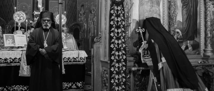 Χειροτονία Αρχιμανδρίτου στα Ονομαστήρια του Φθιώτιδος Νικολάου