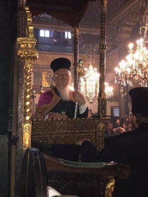 Φανάρι: Πατριαρχική Χοροστασία σήμερα Κυριακή των Προπατόρων