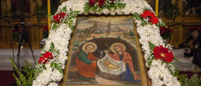 Λαμία: Με λαμπρότητα ο Μέγας Εσπερινός των Χριστουγέννων