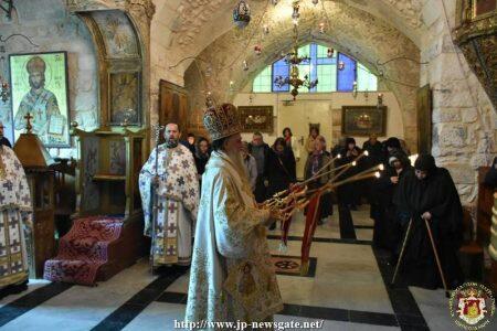 Λαμπρή Εορτή του Αγίου Νικολάου στο Πατριαρχείο Ιεροσολύμων