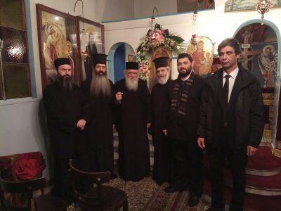 Σεμνό και απέριττο προσκύνημα πραγματοποίησε εκτάκτως ο Αρχιεπίσκοπος Ιερώνυμος