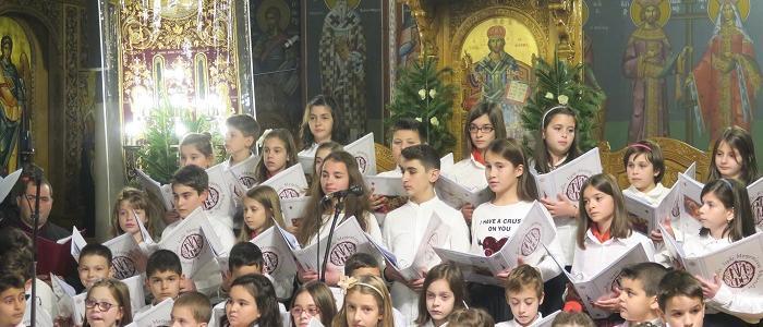 Δέος και συγκίνηση στη Χριστουγεννιάτικη εκδήλωση της Μητρόπολης Φθιώτιδος