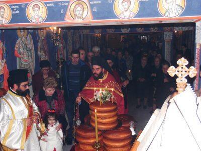 Εορτή Αγίου Ελευθερίου στη Κατακόμβη του Καθεδρικού Ναού Παναγίας Ελευθερωτρίας Διδυμοτείχου