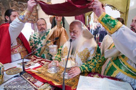 Με λαμπρότητα πανηγύρισε ο Ιερός Ναός του Αγίου Σάββα Κυριωτίσσης Βεροίας