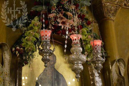 Κοσμοπλημμύρα στον Αρχιερατικό Εσπερινό στον Ιερό Ναό Αγίου Νικολάου Ξηροκρήνης