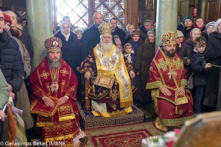 Ουκρανία: Ο Βεροίας Παντελεήμων στην πανήγυρη της Αγίας Βαρβάρας στην πόλη Λβίβ