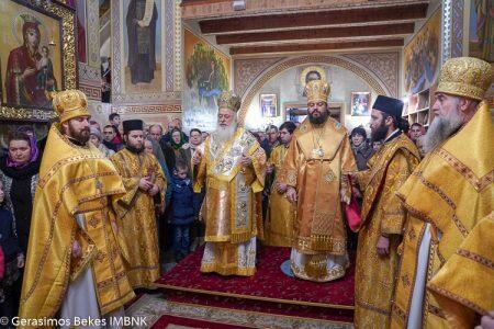 Ουκρανία: Η πανήγυρις του Αγίου Νικολάου στην Ιερά Μονή Κοιμήσεως Θεοτόκου Ζύμνο