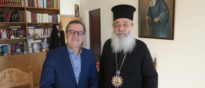 Το Μητροπολίτη Φθιώτιδος Νικόλαο επισκέφθηκε ο βουλευτής Νίκος Νικολόπουλος