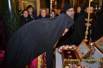 Κοσμοπλημμύρα για τον Άγιο Ελευθέριο στην Αλεξανδρούπολη