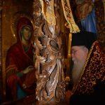 Ο Φιλίππων Στέφανος και πλήθος πιστών στην υποδοχή της Παναγίας Ελευθερώτριας