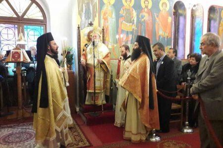 Η Χαλκίδα τίμησε με λαμπρότητα την Αγία Βαρβάρα
