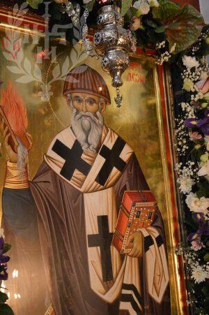 Στον Ιερό Ναό Αγίου Σπυρίδωνος στην Νικόπολη ο Νεαπόλεως Βαρνάβας