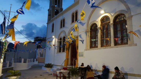Η Κάλυμνος τιμά τον Άγιο Στέφανο τον Πρωτομάρτυρα