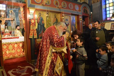 Αρχιερατική Θεία Λειτουργία στον Πανηγυρίζοντα Ι.Ν.Αγίου Στεφάνου Εξοχής