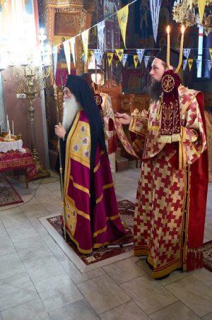 Λαμπρή Εορτή Αγίου Σάββα στην Νεάπολη Βοΐου–Αρχιερατική Θεία Λειτουργία