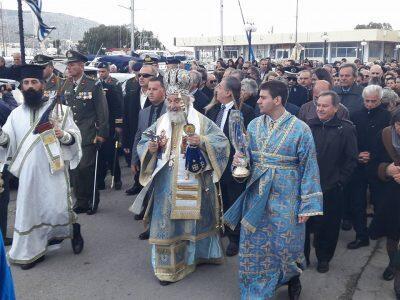 Λιτανεία Λειψάνου και Ιεράς Εικόνας Αγίου Νικολάου στην Κάλυμνο